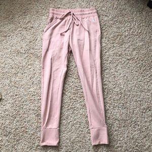 FREE PEOPLE pink sweatpants